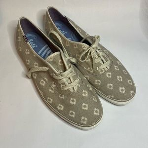 Keds Shoes - Keds Gray Cushioned Heel Confort Champion Snakers